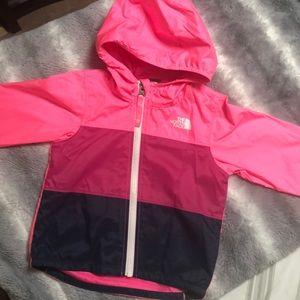 Girls North Face Wind Breaker Jacket